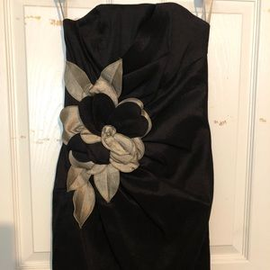 Caché Formal Mini Dress